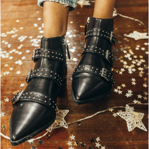 Seraphim Pointy Toe Booties