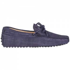 TOD'S Men's leather loafers moccasins laccetto gommino