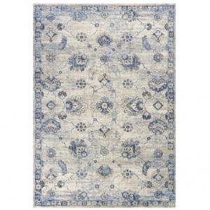 KAS Oriental Rugs Seville 9480 Gray/Blue Sutton 3.25L x 4.92W ft.