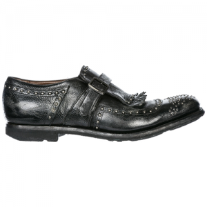 CHURCH'S Men's classic leather formal shoes slip on shangai