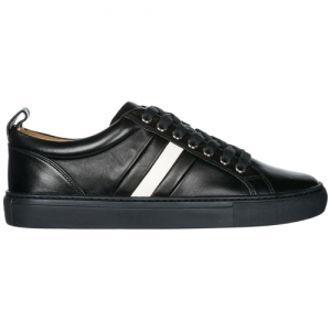 BALLY Men's shoes leather trainers sneakers hendris