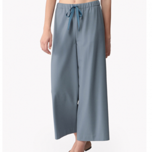 Light Saxony Wide Cropped Culotte パンツ