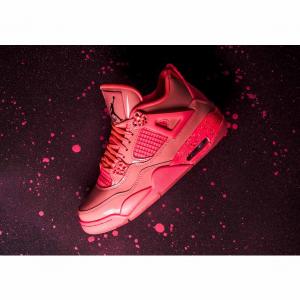 "Nike Store官网Air Jordan 4 ""Hot Punch"" 即将发售粉红少女必入"