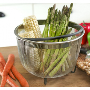 Today Only:$16.97 Pressure Cooker Steamer Baskets @ Amazon.com
