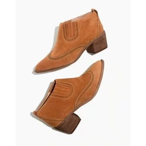 The Grayson Brogue Chelsea Boot
