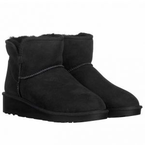 $9.97 for Kirkland Signature Ladies' Short Shearling Wedge Boot @ Costco