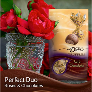 $6.76 Dove Milk Chocolate Truffles, Christmas Candy Gifts, 5.31 Ounce (Pack of 3) @ Amazon