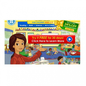 Free 30 day trial & 34% off annual subscription @ ABCmouse.com