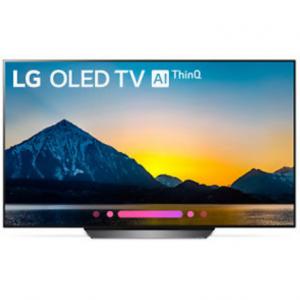 """eBay官网 LG OLED55B8PUA 55"""" Class B8 OLED 4K HDR AI 智能电视(2018型号)热卖 立减$1298"""