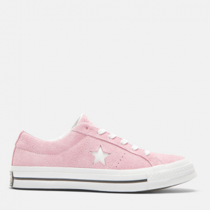 CONVERSE One Star Suede Sneakers in Pink