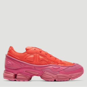 ADIDAS BY RAF SIMONS X adidas Ozweego III Sneakers in Red and Pink