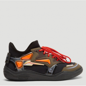 LANVIN Neoprene Diving Sneakers in Black