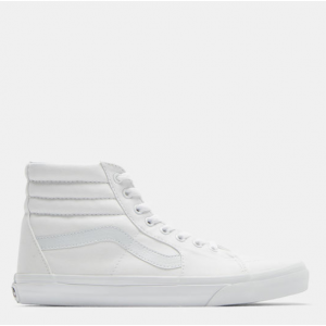 VANS Unisex Sk8-Hi Sneakers in White