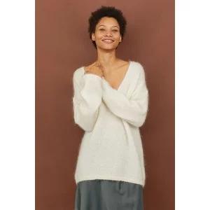 Knit Mohair-blend Sweater