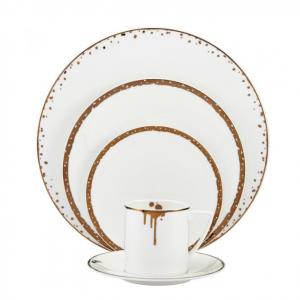 Mikasa® - Dorian Gold 20 Piece Dinnerware Set