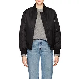 WILLIAM RAST Tech-Twill Bomber Jacket