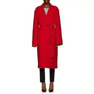 HELMUT LANG Wool Blanket Coat