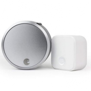 $123.01 off August Smart Lock Pro + Connect 3rd Gen - Silver Wireless Bluetooth Keyless Entry