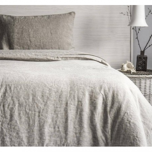 Linen Duvet Cover Stone Washed Super Soft Natural Organic 100% SEAMLESS