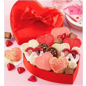 Satin Heart Treats Gift Box
