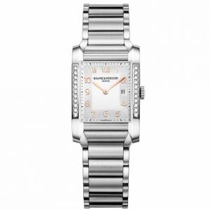 Baume & Mercier Hampton Rectangular Women's Watch 10023