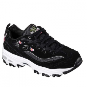 Skechers D'Lites Bright Blossoms Sneaker (Women's)