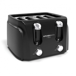 $14.99 KitchenSmith 4 Slice Toaster - Black @ Target