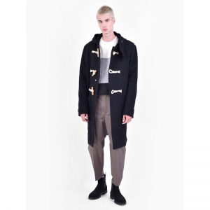 AMI ALEXANDRE MATTIUSSI Virgin wool blend duffle coat