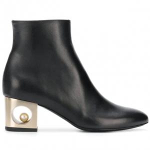 COLIAC heel embellished boots