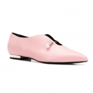 COLIAC pearl embellished shoes