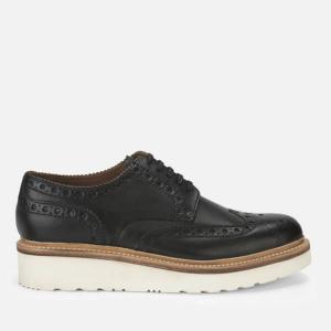 Grenson Men's Archie V Leather Brogues