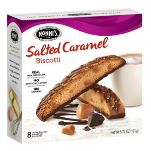 $2.50 Nonni's Biscotti, Salted Caramel, 8 Count, 6.72 Ounce @ Amazon