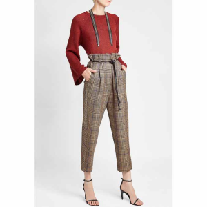 BRUNELLO CUCINELLI Sequinned Cashmere Pullover with Silk