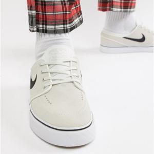 Nike SB Zoom Stefan Janoski Trainers In White 333824-108