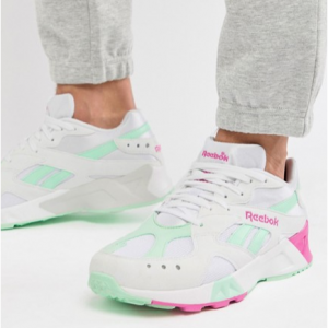 Reebok Classic Aztrek Trainers In White Exclusive to ASOS