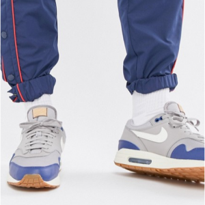 Nike Air Max 1 Trainers In Grey AH8145-008