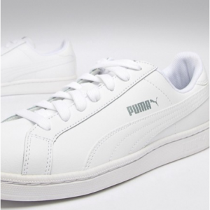 Puma smash trainers in white