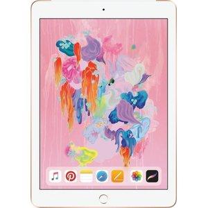 Apple - iPad (Latest Model) with Wi-Fi + Cellular - 32GB (Verizon Wireless) - gold