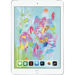 Apple - iPad (Latest Model) with Wi-Fi + Cellular - 32GB (Verizon Wireless) silver