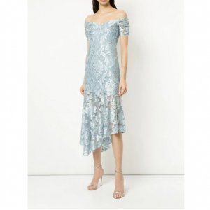 ALICE MCCALL Fleur De Lys midi dress