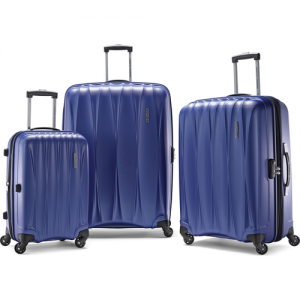 $167.99(value $550) for American Tourister Arona Premium Hardside Spinner 3Pcs Luggage Set