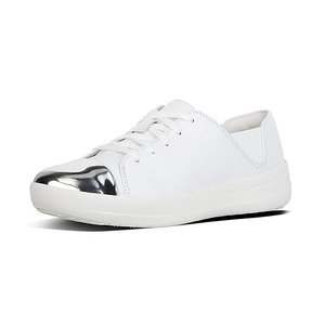 F-SPORTY Mirror-Toe Leather Sneakers