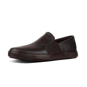 COLLINS Men's Leather Slip-On Skate Shoes