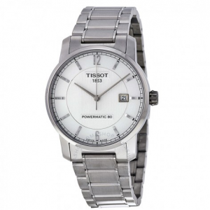 TISSOT T-Classic Titanium Automatic Silver Dial Men's Watch for $275 (was $825) @JomaShop