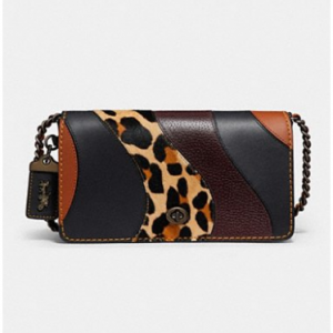 Dinky With Leopard Patchwork LEOPARD MULTI/BLACK COPPER