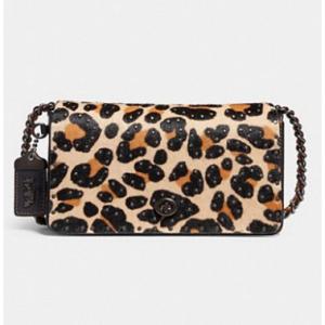 Dinky With Embellished Leopard Print LEOPARD/BLACK COPPER