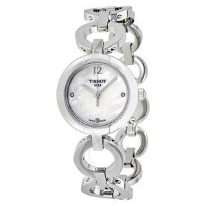 史低价:JomaShop官网Tissot天梭镶钻珍珠母贝时装女表仅售 $139.99 (原价 $375)