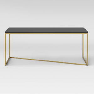 Sollerod Coffee Table - Brass and Black - Project 62