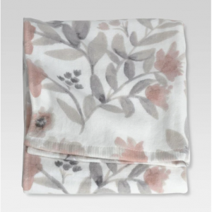Flat Weave Hand Towels Coral Blooms - Threshold