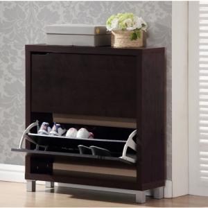 Simms Modern Shoe Cabinet - Baxton Studio